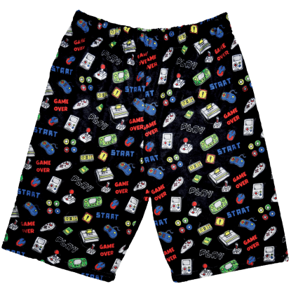 Picture of Level Up Plush Shorts