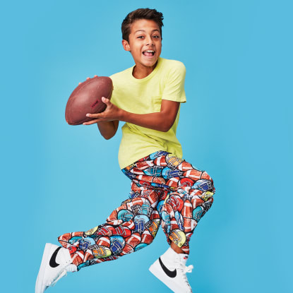 Picture of Football Plush Pants