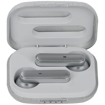 Picture of Silver Glitter Compact Earbuds