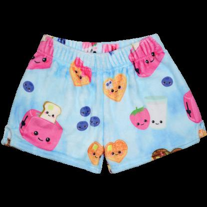 Picture of Breakfast Fun Plush Shorts