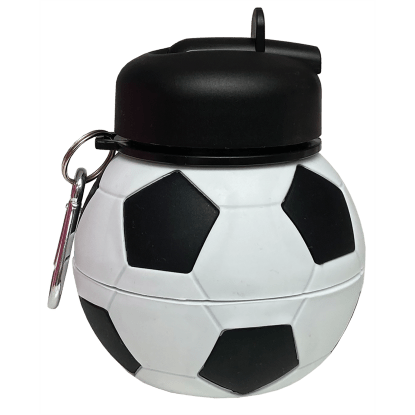 Picture of Soccer Collapsible Water Bottle