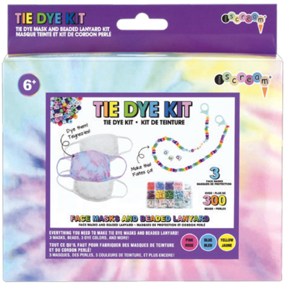 Picture of DIY Tie Dye Masks and Beaded Lanyard Kit