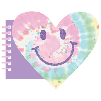 Picture of Happy Face Heart Mini Notebook