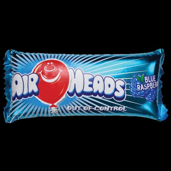 Picture of Airheads Metallic Blue Raspberry Microbead Pillow