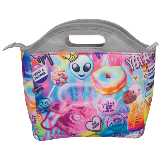 Picture of Psychedelic Collage Lunch Tote