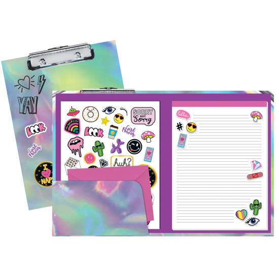 Picture of Holographic Clipboard Set