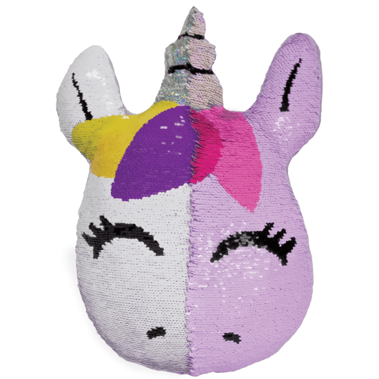 Unicorn Reversible Sequin Pillow Iscream