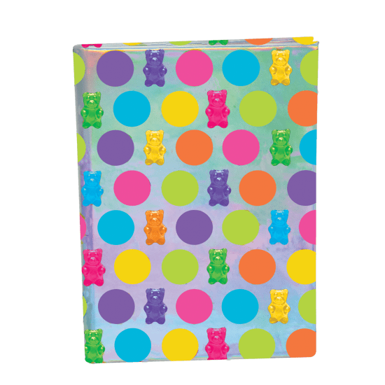 Picture of Gummy Bears Holographic Journal