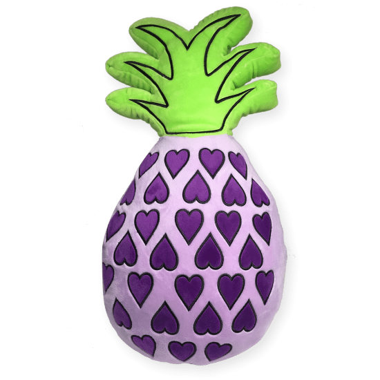 Picture of Pineapple Embroidered Pillow
