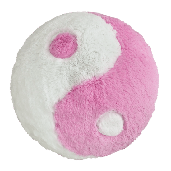 Picture of Yin Yang Furry Pillow