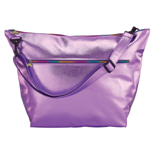 Picture of Purple Metallic Weekender Bag