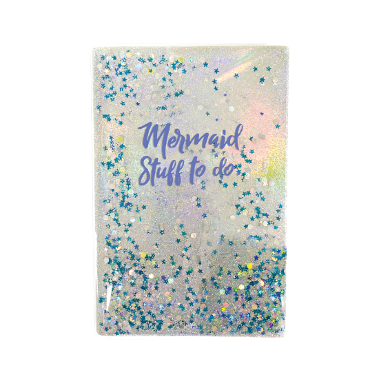 Picture of Mermaid Floating Glitter Journal