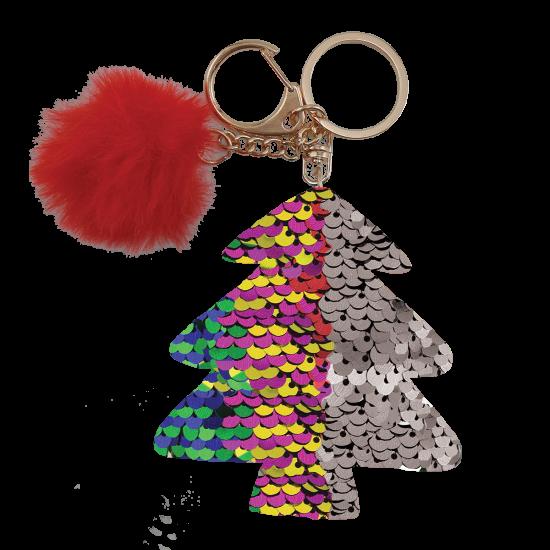 Picture of Multicolored Xmas Tree Clip