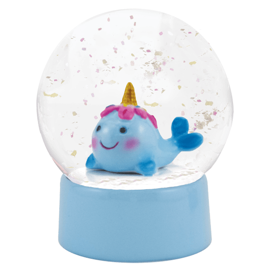 Picture of Narwhal Snow Globe