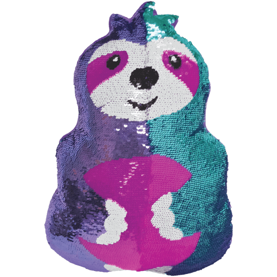 Picture of Sloth Reversible Sequin Pillow