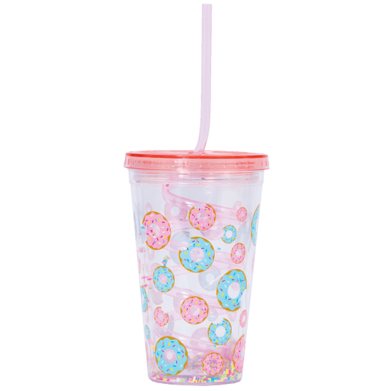 Picture of Donuts Cup with Straw