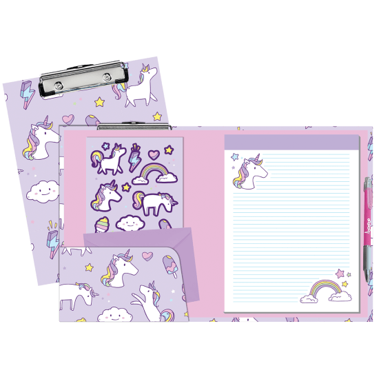 Picture of Unicorn Wishes Clipboard Set