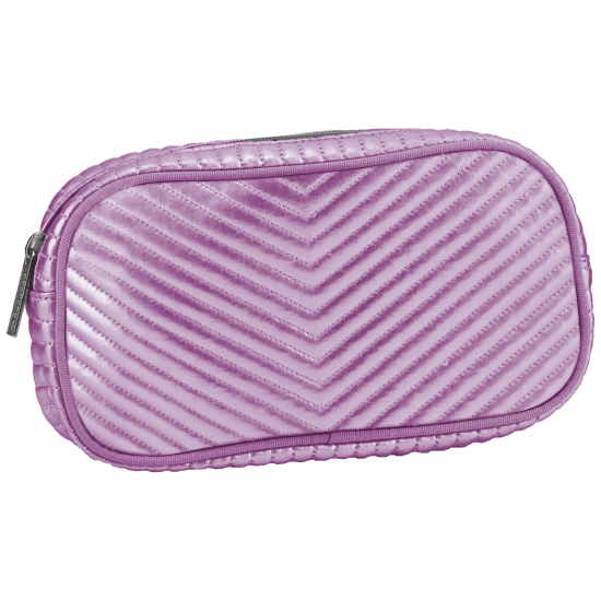 Picture of Pink Chevron Small Cosmetic Bag