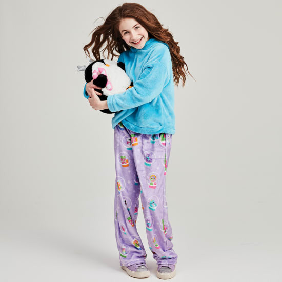Picture of Holiday Snow Globes Plush Pants