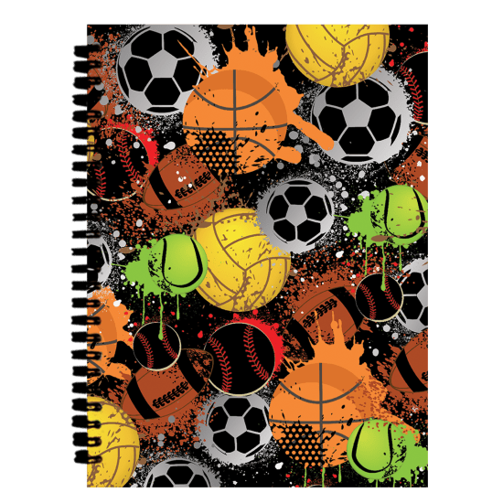 Picture of Graffiti Sports 3D Journal