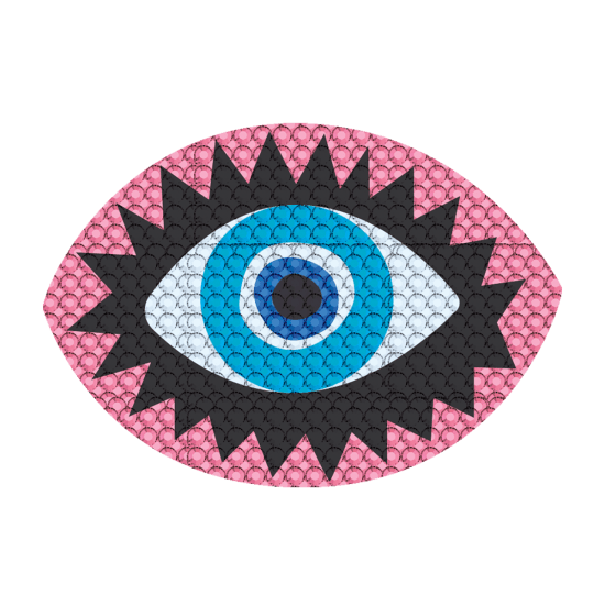 Picture of Eye Rhinestone Decals Small