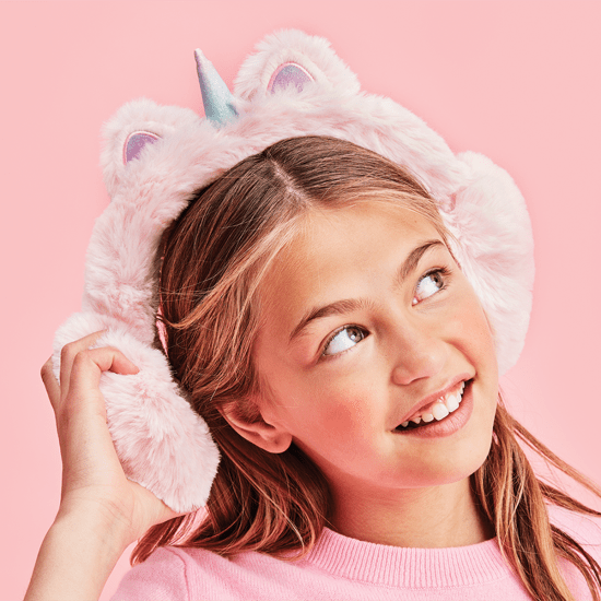 Picture of Unicorn Furry Earmuffs