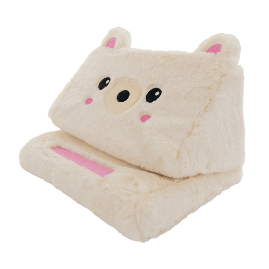 Picture of Bear Furry Tablet Pillow