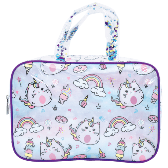 Picture of Caticorn Large Cosmetic Bag