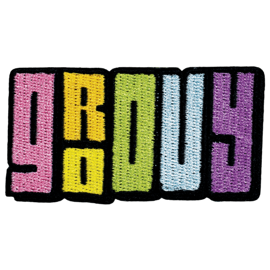 Picture of Groovy Embroidered Sticker Patch