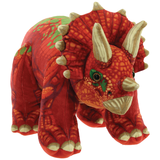 Picture of Triceratops Fleece Pillow