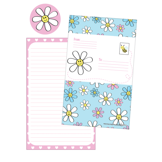 Picture of Daisies Foldover Cards
