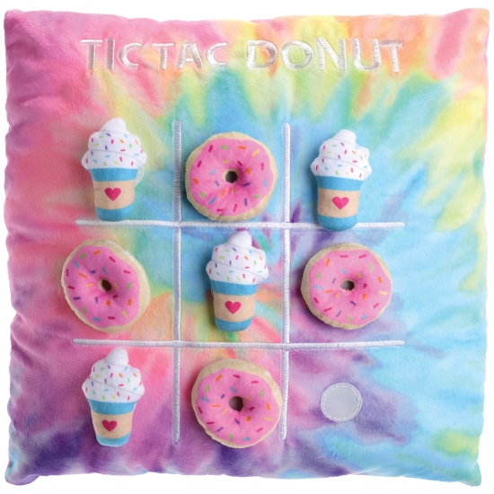 Picture of Tic-Tac  Donut Fleece Pillow