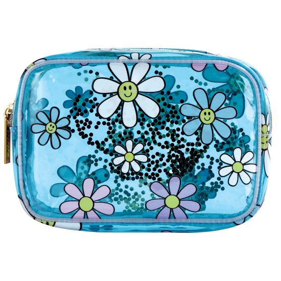 Picture of Daisies Clear Cosmetic Bag