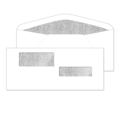 Picture of Self-Seal Double Window Envelopes