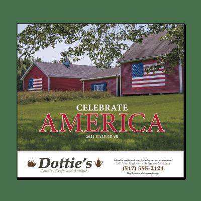 Picture of Celebrate America Wall Calendar