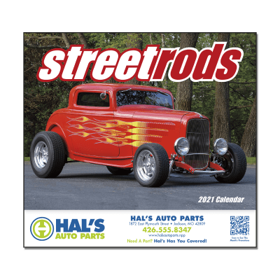 Picture of Street Rods Wall Calendar
