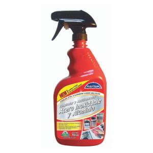 Limpiador y Abrillantador de Acero Inoxidable y Aluminio
