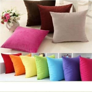 Par de Cojines Decorativos 40 x 40 - Varios Colores