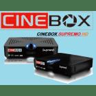 Receptor Cinebox Supremo Full HD 1080p Wifi MP3 Mpeg IPTV HDMI
