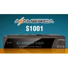 Receptor Azamerica s1001 Twin Tunner IKS SKS CS IPTV Full HD 1080p