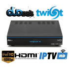 Duosat Twist HD Satelite e Cabo IKS SKS CS IPTV 3D Wifi 1080p On demand