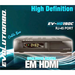 Receptor Evolutionbox EV-HD190c HDMI - Cabo