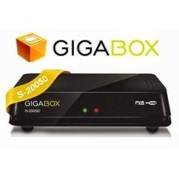 Receptor Gigabox S-200SD DVB HDMI
