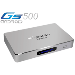 Globalsat  GS 500 Android Ultra HD 4K - iks sks iptv Ondemand