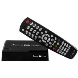 Receptor Audiosat R4 IPTV Flix Wifi Multimidia