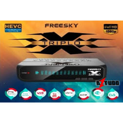 FREESKY TRIPLO X - SKS FULL HD FTA 4K