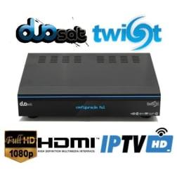 Duosat Twist HD Satelite e Cabo IKS SKS CS IPTV 3D Wifi 1080p On demand