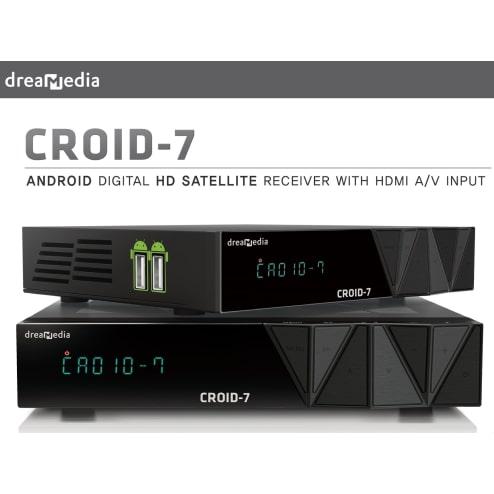 Dreamedia Croid-7 Wifi Full HD Android SKS IKS IPTV  PSp