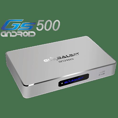 Receptor Globalsat  GS 500 Android Ultra HD 4K - iks sks iptv