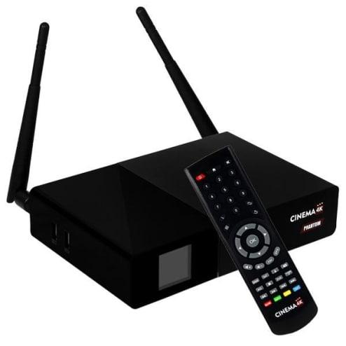 Cinebox Fantasia X2 - WiFi iks sks iptv acm + Óculos 3D